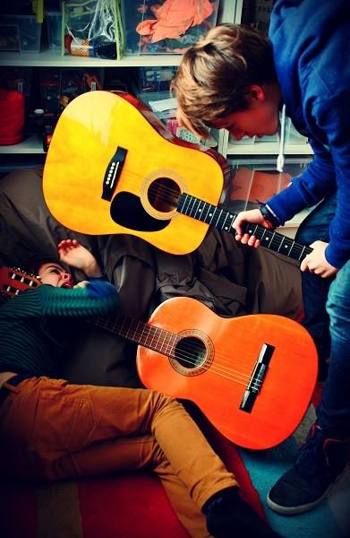 Cours de guitare pour les particuliers