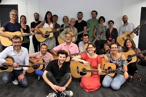 MEL Band 1 - maxime guitare